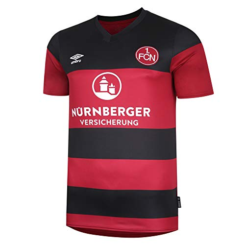 UMBRO 1. FC Nürnberg Trikot Home 2020/2021 Herren rot/schwarz, M
