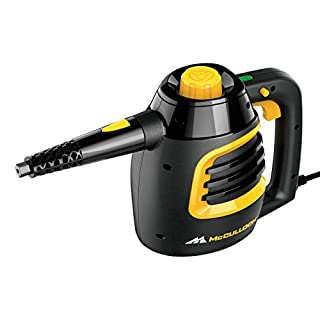 Deluxe Canister Steam Cleaner with 23 Accessories Chemical Free 1 Pack Black