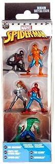 Metalfigs Nano Marvel Pack 5 Unidades Spider-Man Kid Arachnid