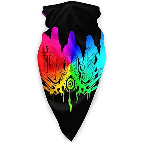 Dethklok Windproof Sports mask Sun UV Protection Face Mask Neck Breathable Bandana Balaclava Black