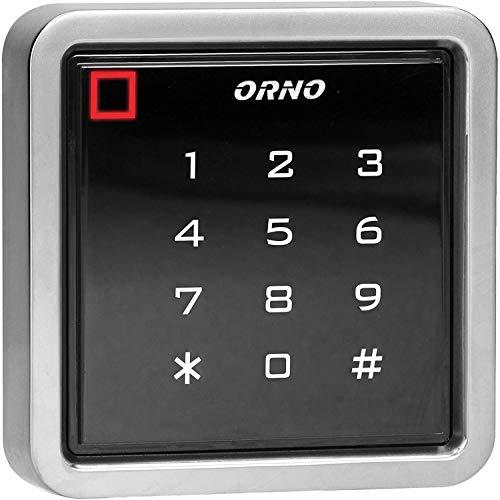 ORNO ZS-816 Wasserdichtes Zahlenschloss, kompatibel mit Kartenleser und berührungslosem Schlüsselleser, wasserdichtes IP68, EPROM-Speicher