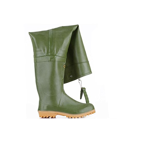 Stivali in gomma - 7762-rbru - Olive - 39
