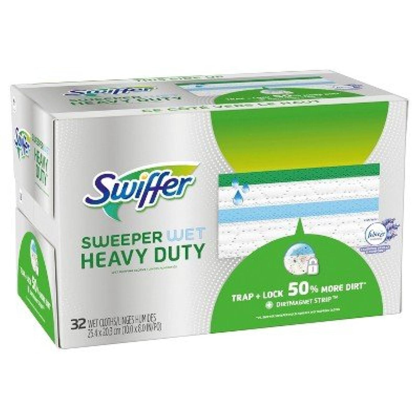 Swiffer Sweeper Heavy Duty Wet Cloths - 32ct Multicolor