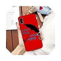 AuangaoファッショントレンドFor iPhone 7 11 Pro XS MAX XR X 8 6 6sプラスコフカップソフトマットバックカバーキャパバッグのためのギルモアガールズ電話ケース-Style 3-For iPhone XS MAX