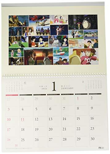 Studio Ghibli Art Frame Official Wall Calendar 2021 Anime Ensky Japan