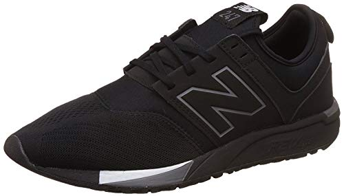 New Balance Sneaker da uomo 247 Classic Mesh, (nero/grigio), 37 EU