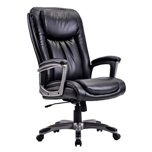 Office Chair PC Gaming Chair Adjustable High-Back Lumbar...