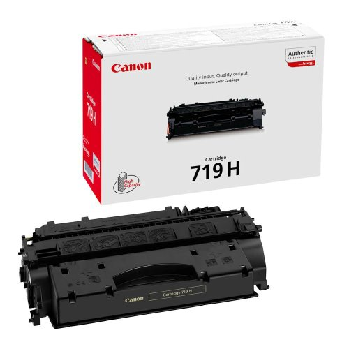 Canon CRG 719H BK Cartucho 6400páginas Negro
