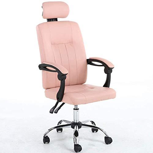 Woonkamer stoel ruimte van de studie schrijven stoelmassage Student stoel computer stoel Boss stoel kindvriendelijke kinderstoel (Kleur: Beige, Maat: 56cm * 56cm * 125cm)