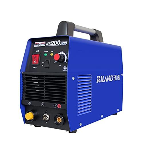 Máquina de soldador Mini de mano IGBT MMA Soldador eléctrico 10-200A Máquina...