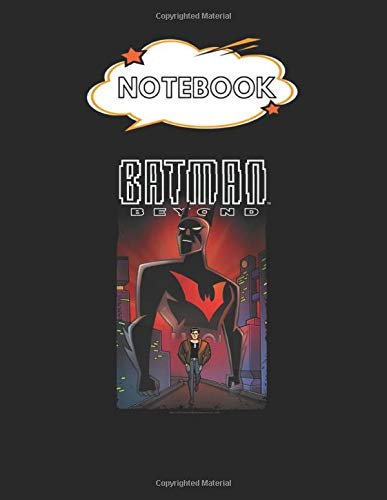 Notebook: Batman Beyond Facing Fate Blank Comic Notebook for Kids Marble Size Blank Journal Composition Blank Pages Rule College Rule Lined for ... of 8.5'x11' for Drawing Sketching Doodling