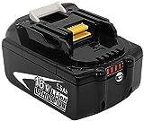 FUNMALL BL1860B pour Makita 18V Batterie de Rechange BL1860 BL1850B BL1850 BL1840 BL1830 BL1835 BL1845 BL1815 LXT-400 avec Indicateur LED sans Fil Outils électroportatifs