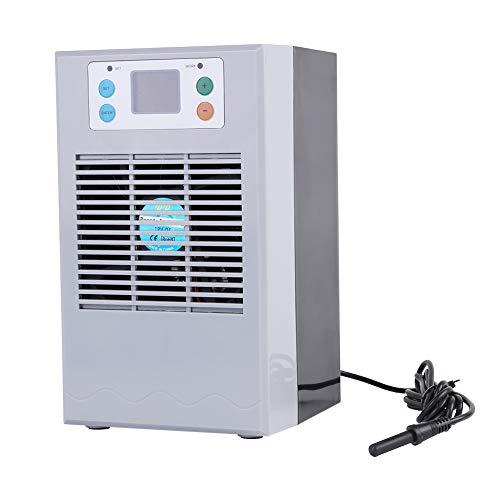 CDSL Termostato De Calefacción De Agua De Enfriamiento De Agua De 100-240V De Peces para El Equipo De Accesorios De Máquina De Calefacción De Agua De Acuario (35L)
