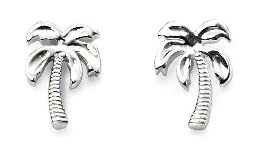 Elements Silver Women 925 Sterling Silver Stud Earrings AZ-E5571