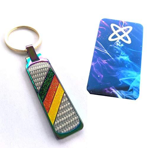 Schlüsselanhänger der Fahne von Deutschland High End + Schachtel Box Elegant und originell - Deutsche Mannschaft Schlüsselanhänger - Germany Flag Keychain + Box