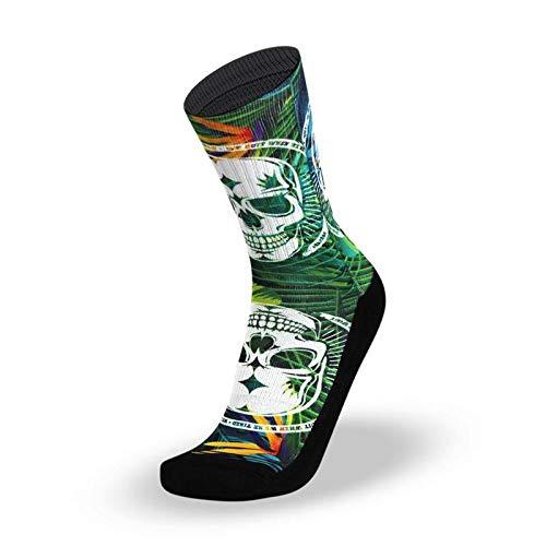 LITHE Calcetines #Badass Tropical - Green Socks