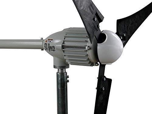 Windgenerator, Windturbine, Windrad, iSTA-Breeze®, i Serie (i-2000 (2 KW/48 V), Black Edition). -#3461 schwarz