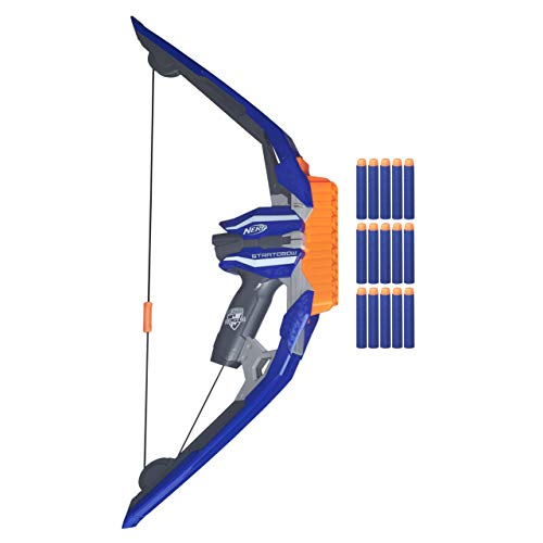 Nerf - Arco lanzadardos Elite Stratobow (Hasbro B5574EU4)