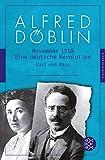 November 1918: Eine deutsche Revolution. Erzählwerk in drei Teilen. Dritter Teil: Karl und Rosa (Alfred Döblin, Werke in zehn Bänden, Band 7)