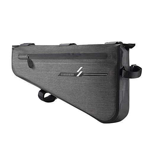 Great Deal! Shenghua1979 Tube Frame on Bicycle Frame Waterproof Bicycle Bag Triangle Saddle Frame Po...