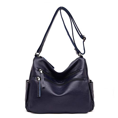 Hynbase Lady's Packet Leisure Handbag PU Leather Shoulder Cross Boby Bags
