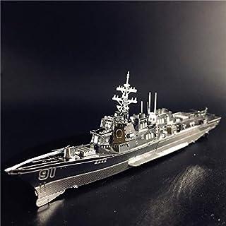 PPOOモデル 3D 金属パズルバーク級駆逐艦タイプ 056 コルベット軍艦モデル DIY 3D レーザーカットジグソーパズルおもちゃ (SLIVER)