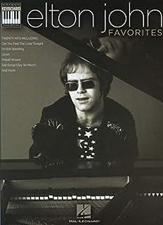 Elton John Favorites: Note-for-Note Keyboard Transcriptions