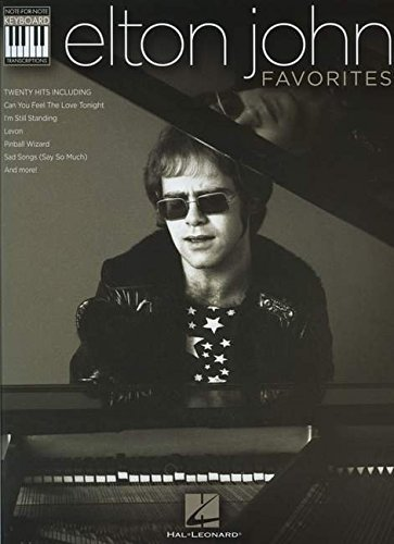 Elton John Favorites: Note-for-Note Keyboard Transcriptions (Keyboard Recorded Versions)