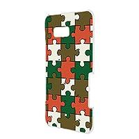 FFANY HTC U11 (HTV33) 用 ハードケース スマホケース パズル柄・ベーシック おもしろ ゲーム パロディ エイチティーシー ユー au 楽天モバイル ワイモバイル スマホカバー 携帯ケース 携帯カバー puzzle_aao_h190732