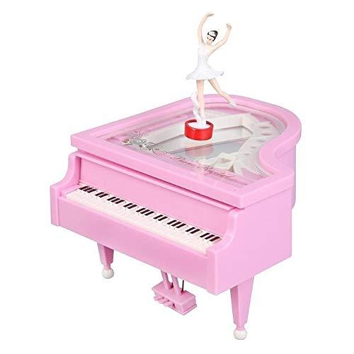 Muziekdoosjes Mechanism Piano Music Box Klassiek Vintage Movement Girl Ballerina Music Box Romantic Classic Mini Piano Model (Color : 03, Size : Free)