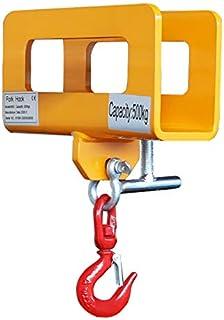 フォークフック フォークリフト爪用 吊りフック 500kg フォークリフトアタッチメント FF-05