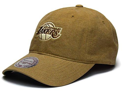 Mitchell & Ness Workmen's Strapback - NBA L.A. Lakers, tan