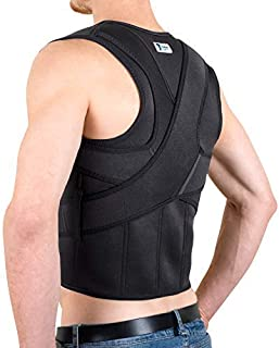 The Ultimate Posture Corrector for Women and Men   Unisex Braces Shoulders and Clavicle Support   Upper and Lower Back Sup...