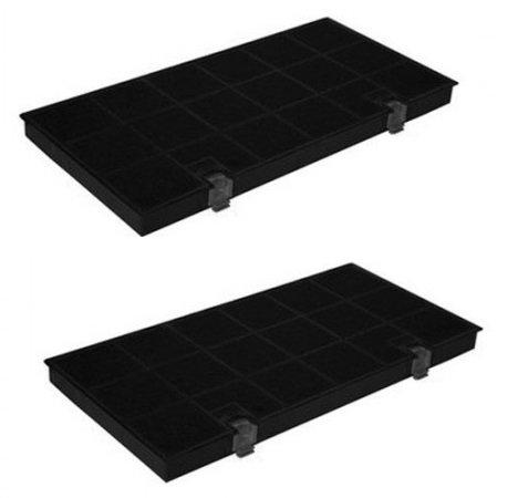 2x Aktivkohlefilter passend Bauknecht Aromafilter DKF24 / TYP150 / KF80 -AEG , Juno , Electrolux, Bosch ,Whirlpool , Quelle , IKEA u.a.