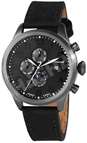 Engelhardt Herren Analog Mechanik Uhr mit Leder Armband 389521529002