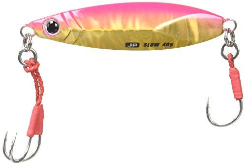 メジャークラフト ルアー メタルジグ ジグパラ ショアスローモデル20g #43 ピンクゴールドJPSLOW-20