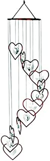 Red Carpet Studios Spiral Tune Red Heart Chime with Heart Crystals