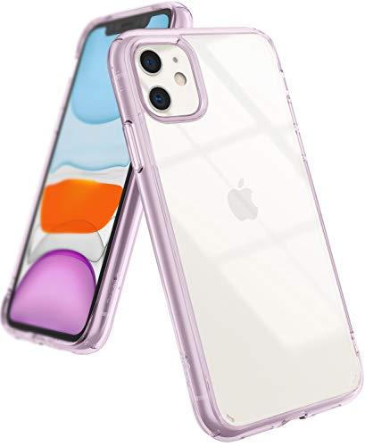 Ringke Fusion Diseñado para Funda iPhone 11, Espalda Transparente Prevención de Golpes Parachoque TPU Carcasa iPhone 11 6.1 Pulgadas (2019) - Lavanda (Lavender)