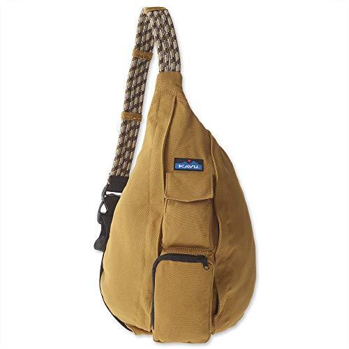 KAVU Original Rope Bag Cotton Crossbody Sling - Tobacco