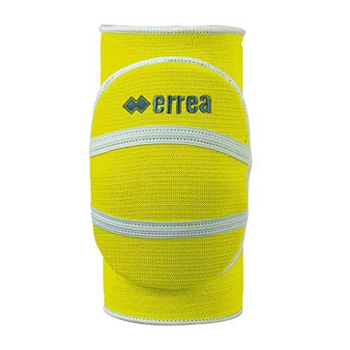 Erreà Atena Knieschoner Limited Edition · Accessoires Schoner Knieschützer Volleyball Athena Knee Pads Set Paar · Unisex Jungen Mädchen Jungs Mädels · Farbe neon-gelb, Kinder, Größe XS