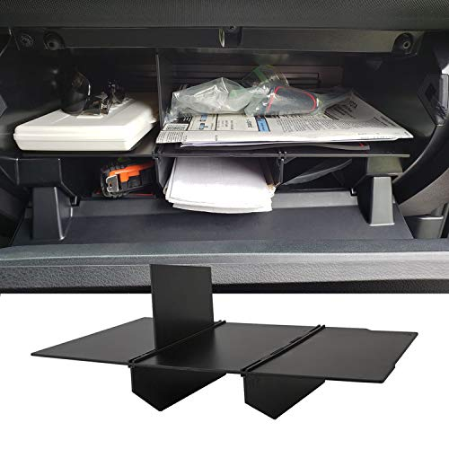 JDMCAR Glove Box Insert ABS Organizer Compatible with Toyota Tacoma (2016 - 2019 2020 2021)- Upgraded Version