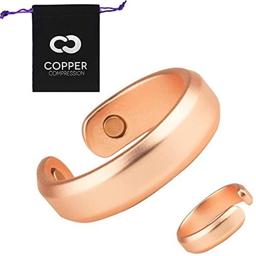 Copper Ring for Arthritis by Copper Compression - 99.9% Pure Copper +...