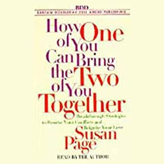 How One of You Can Bring the Two of You Together audiobook cover art