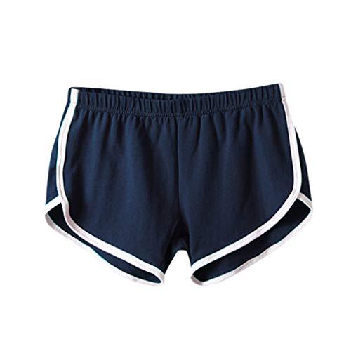 Pantalones Cortos Mujer Deporte Leggins Fitness Running Playa Al Aire Libre Mujeres Casual Color SóLido Deportivos De Verano Yoga Entrenamiento