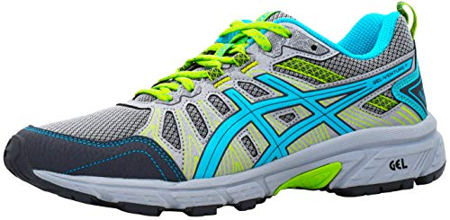 ASICS Women's Gel-Venture 7 Running Shoes, Piedmont Grey/Aquarium, 7 W US