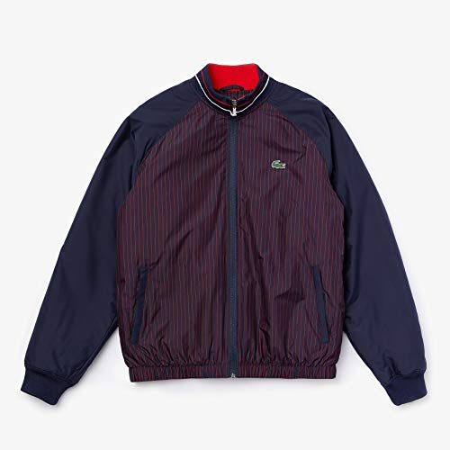 Lacoste Sport Waterresistant Striped Zip Golf Jacke Herren