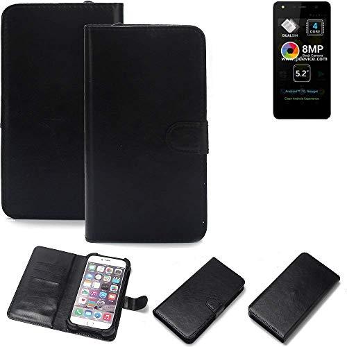 K-S-Trade® Handy Schutz Hülle Für Allview A9 Lite Schutzhülle Bumper Schwarz 1x