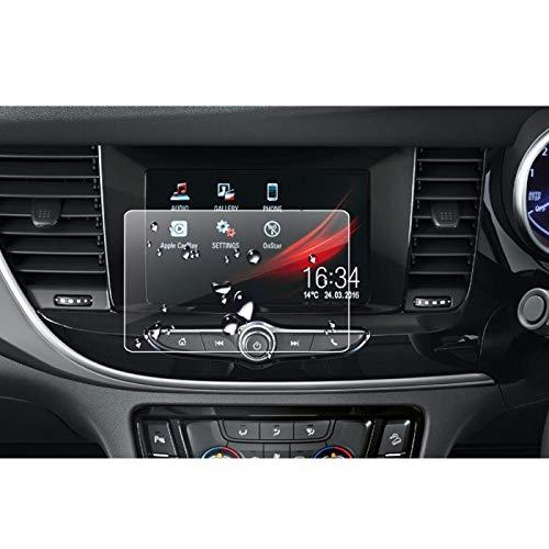 TAYDMEO GPS Navigation Panzerglas Schutzfolie für Opel Mokka X SUV 2018 2019 Auto Multimedia-Display Displayschutzfolie aus gehärtetem Glas Auto Instrument Interior Sticker