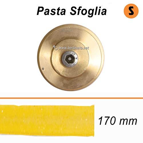 Trafila in bronzo per Pasta Sfoglia Lasagne per macchina pasta fresca professionale VIP/2 2,8kg e VIP4 4kg e compatibile FIMAR MPF 2,5 e MPF 4