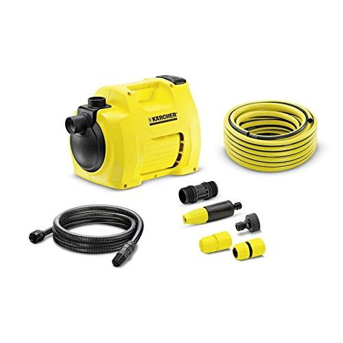 Kärcher 16453570BP 3Garden Set Plus Gartenpumpe mit Bewässerungssystem